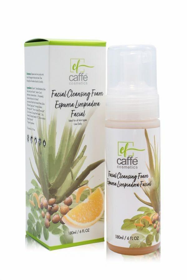 Organic facial cleanser